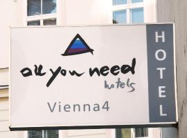 AllYouNeed Hotel Vienna4,