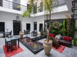 Riad Villa Wenge Spa, Marrakech
