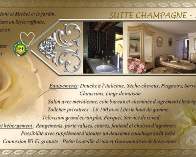 Gästezimmer Domaine de l\'archange, Gästezimmer Dragey-Ronthon