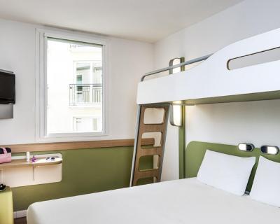 Letto A Castello Triple.Hotel Ibis Budget Saint Maurice