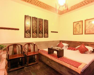 Traditioneel Chinees Bed : Pingyao tianyuankui hotel bed & breakfast pingyao