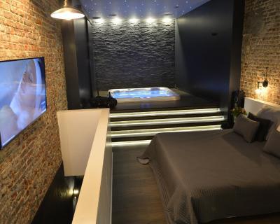 Chambre Avec Jacuzzi Sauna Privatif Appartement Bruxelles