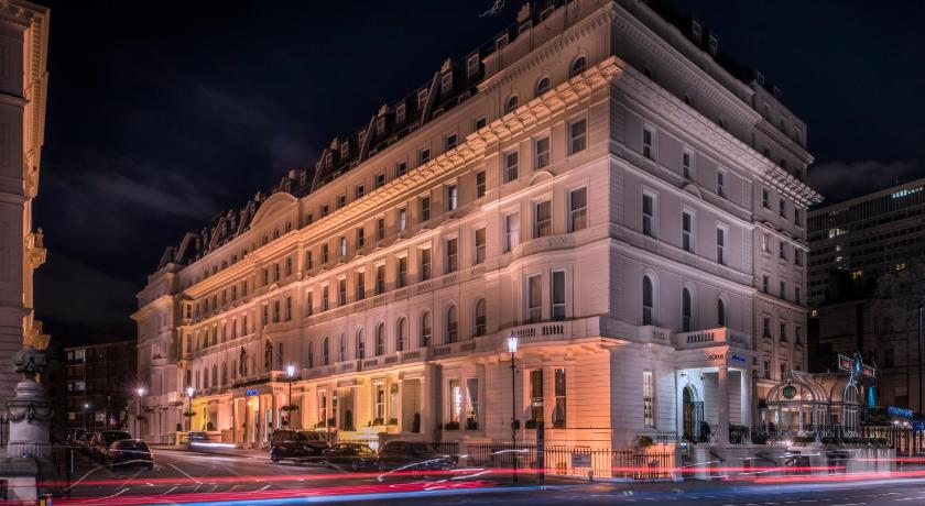 Corus Hotel Hyde Park London Map