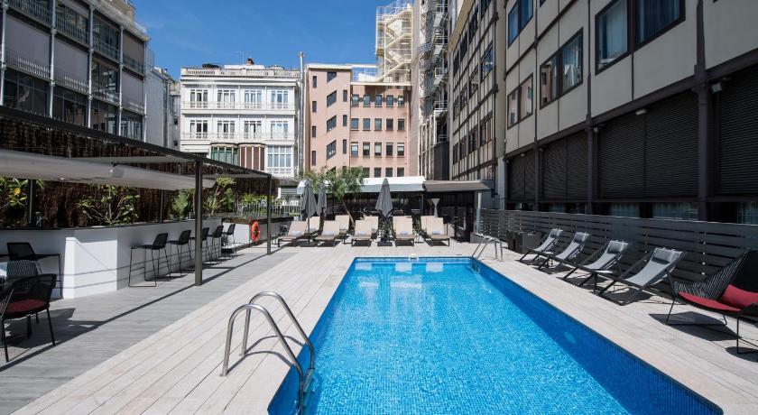 catalonia plaza catalunya hotel barcelona. Black Bedroom Furniture Sets. Home Design Ideas
