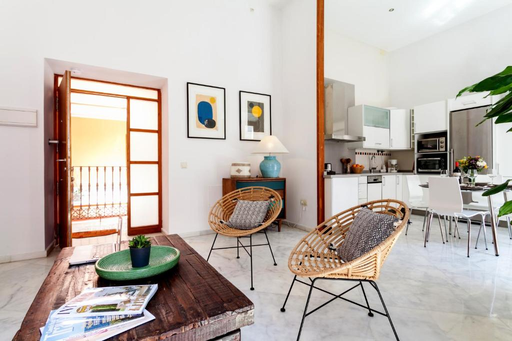 Luxury rooftop space maison apartments apartment sevilla