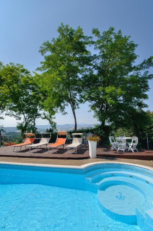B&B Villa Le Terrazze, Gästezimmer Montegridolfo