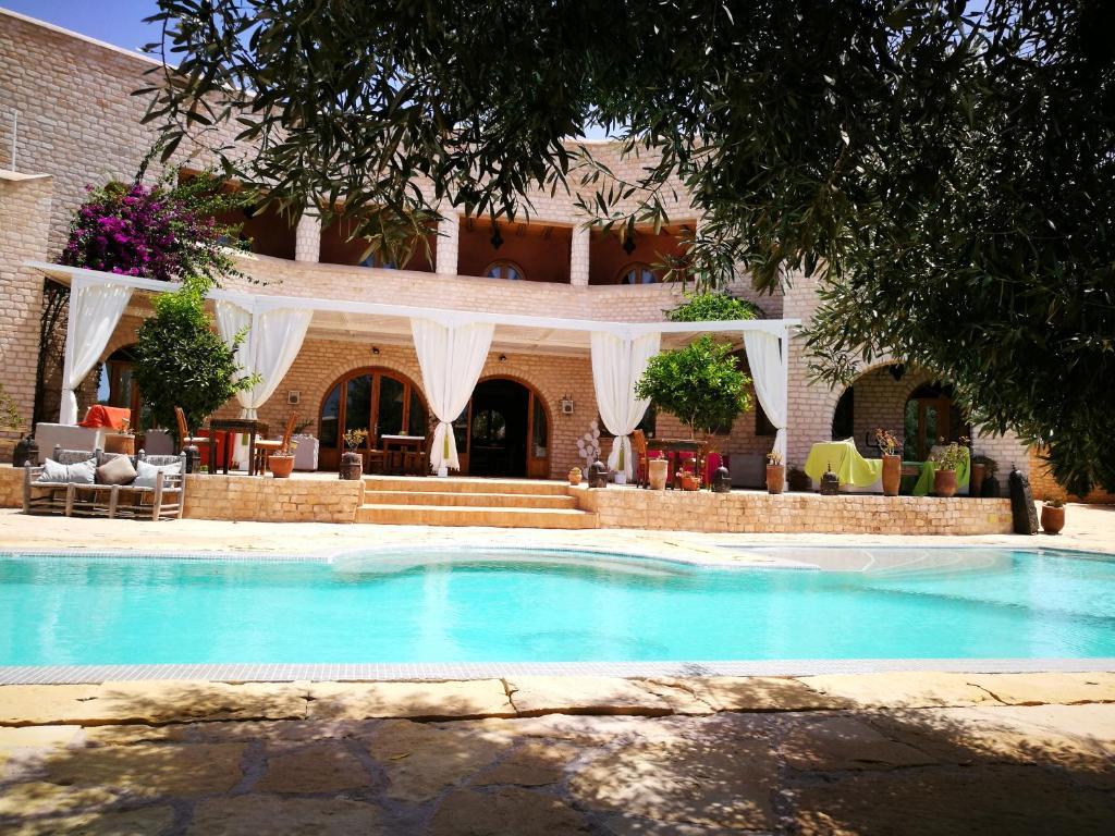 Les Jardins D Argane Villa A Bou Mkila Maroc
