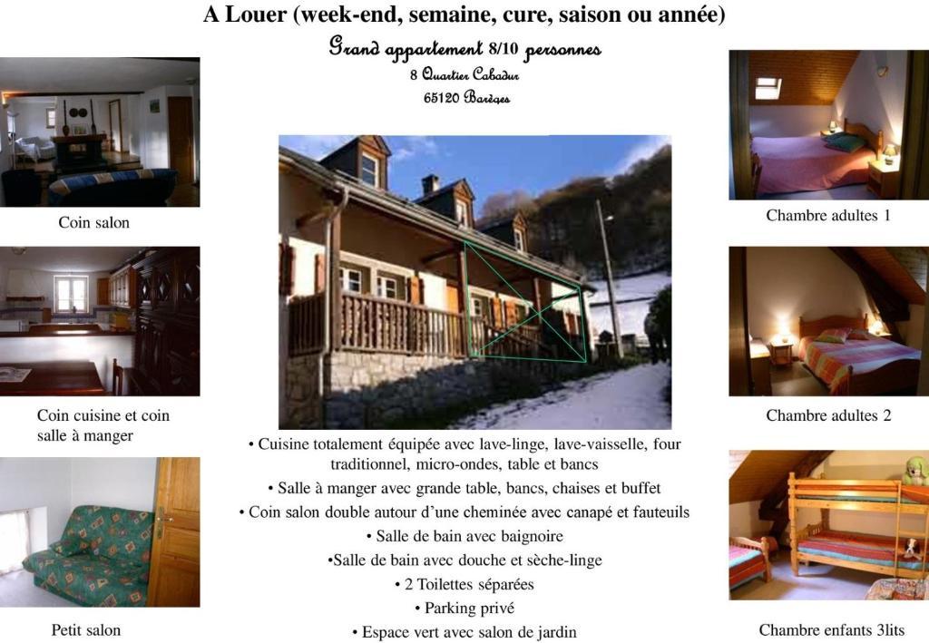 BAREGES LOUISETTE, Ferienhaus Barèges