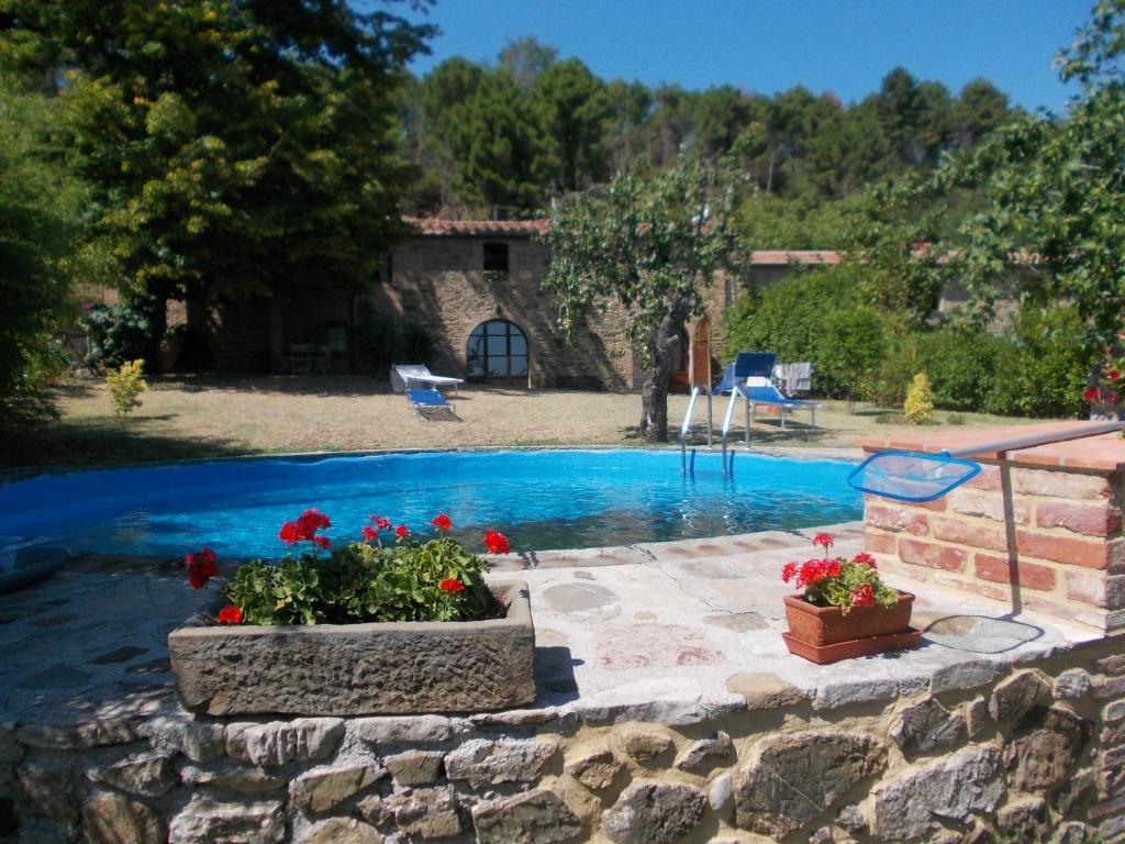 Casa julia con giardino e piscina privati wohnung chianni