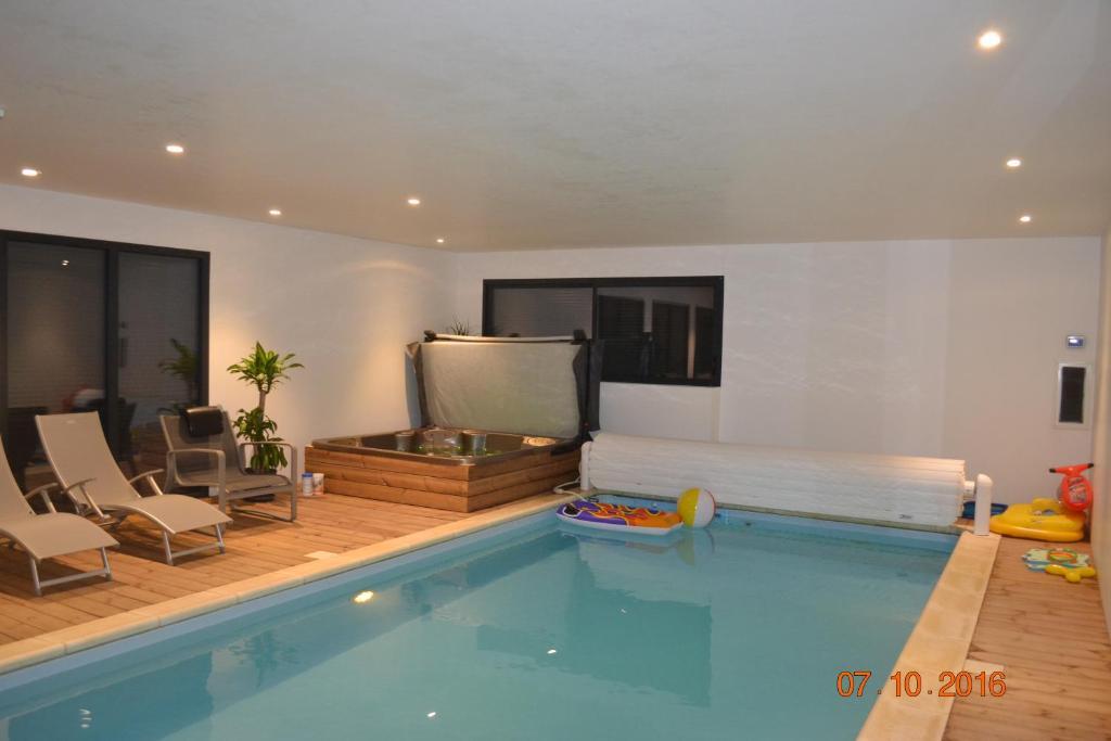 Chambre avec piscine privée et Spa, Chambre d\'hôtes Saint-Martin l ...