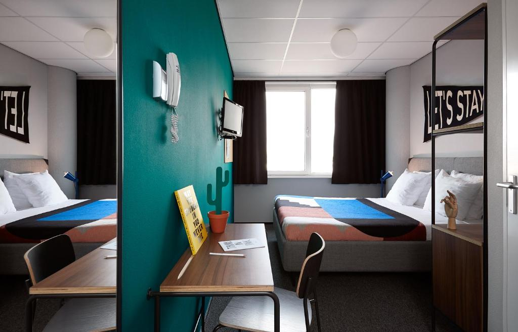 The student hotel amsterdam west amsterdam for Alberghi a amsterdam centro