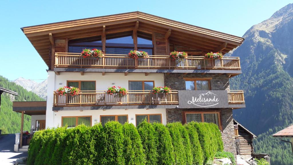 Haus Melisande, Bed & Breakfast Sölden