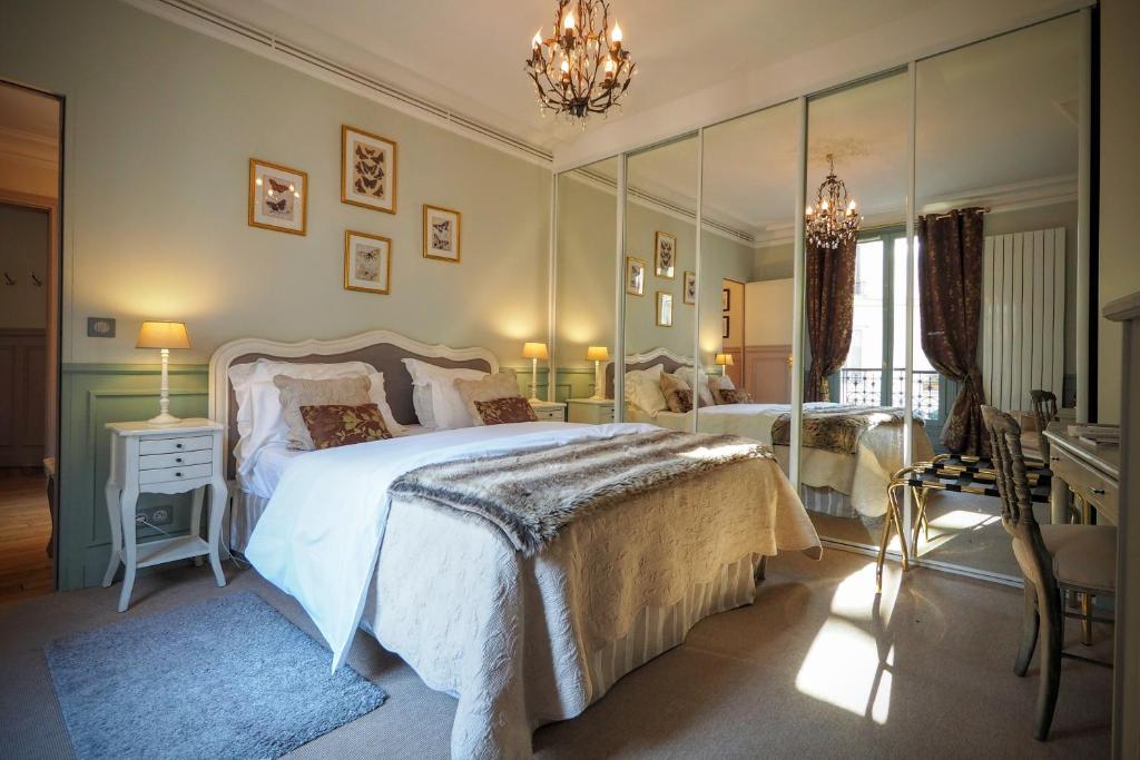Wohnung Chambre D Hote Louvre Elegant Apt Suite Wohnung Paris