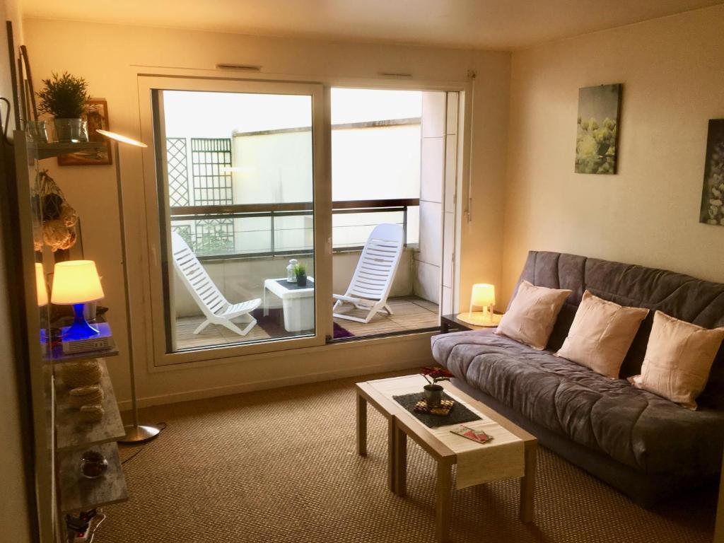 Grand Studio Belle Terrasse Appartement Levallois Perret