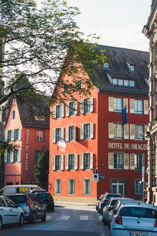 Hotel Du Dragon Strasbourg Parking