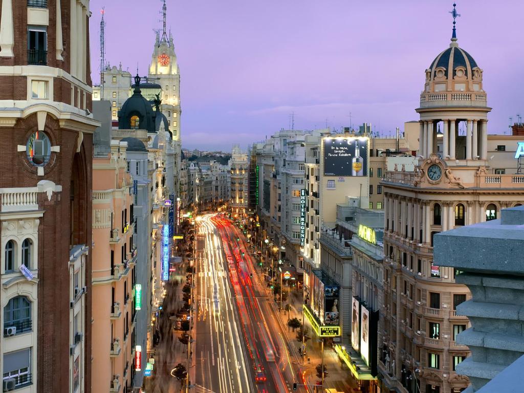 3dorm 3baño Apt Gran Vía Madrid Centro Terraza Apartment Madrid