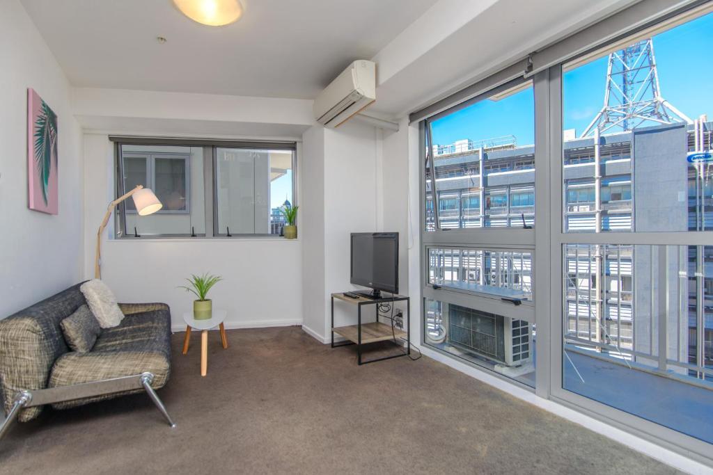 Sunny and spacious 2 beddie in Auckland CBD, Apartamento Auckland