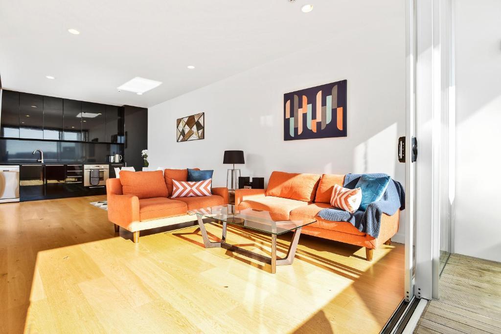 Spacious Apartamento next to Victoria Park, Apartamento Auckland