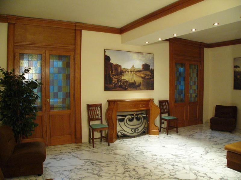 hotel san pietro vatikanstadt informationen und buchungen online viamichelin. Black Bedroom Furniture Sets. Home Design Ideas
