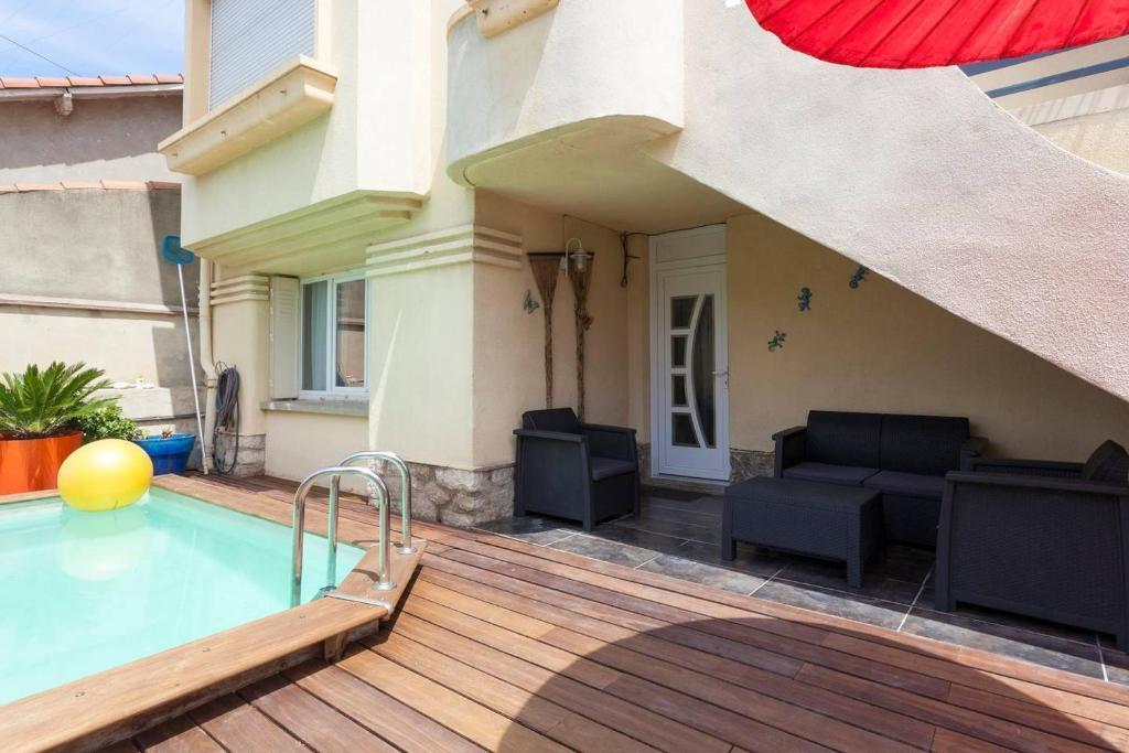 Villa Urbaine Avec Piscine Villa Montpellier