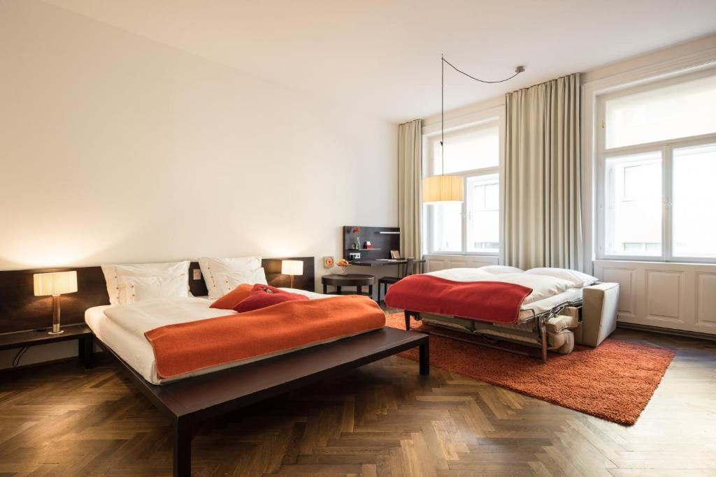 Hollmann beletage design boutique hotel wien for Design boutique hotel torino