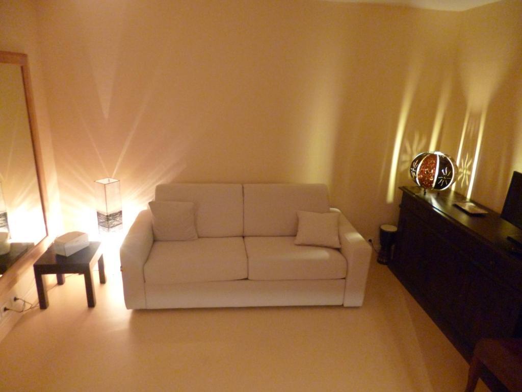 Salle De Bain Beige Marron ~ Appartement Studio D Hotes Appartement Gu Ret