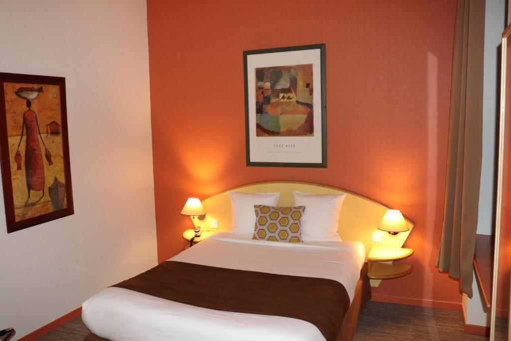 Hotel citotel logis des oliviers thionville
