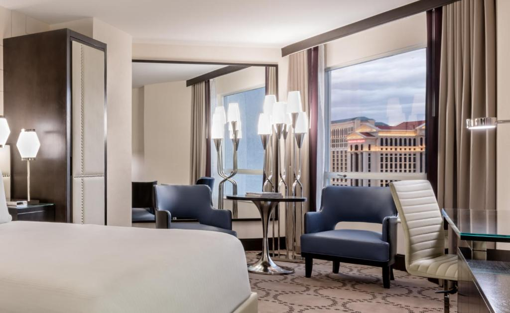 Book Now Harrahs Las Vegas (Las Vegas, United States). Rooms Available for all budgets. This Las Vegas hotel and casino is located on the famous strip. The hotel boasts a full-service spa live nightly entertainment and a seasonal Olympic-sized swimming pool.Harra