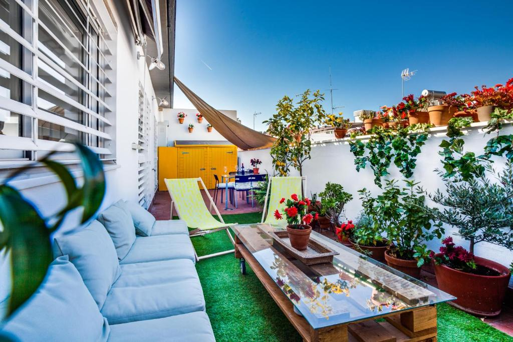 Encantador ático Y Terraza Vft Se 02858 Apartment Sevilla