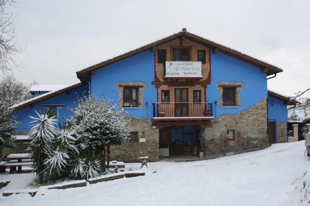 Casa rural ecol gica arrizurieta bermeo viamichelin informatie en online reserveren - Lurdeia casa rural bermeo ...