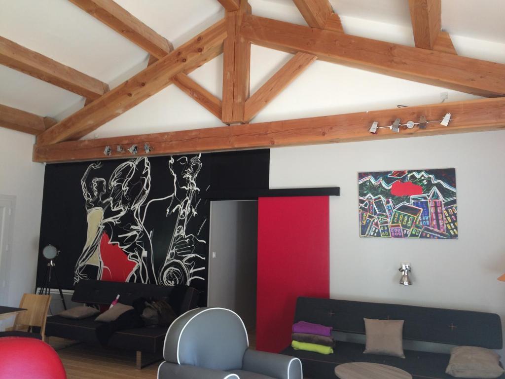Maison moderne Aveyron, Vermietung Saint-Jean du Bruel