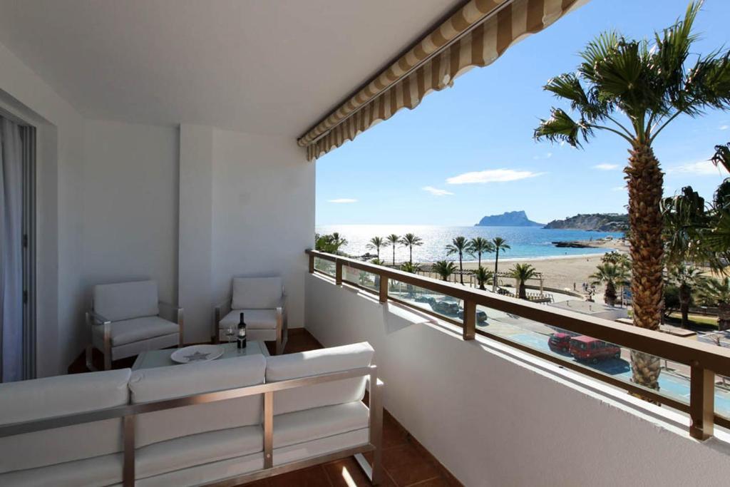 Primera Linea De Playa Apartamento Moraira
