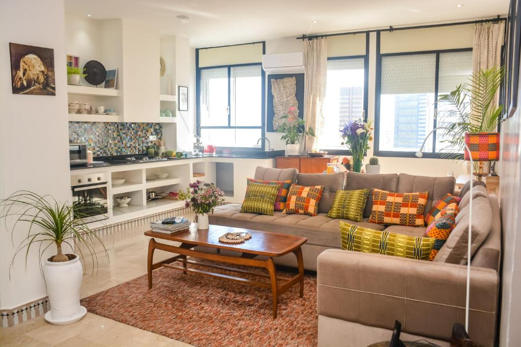 Apartment Moderne Moroccan African Decoration Apartment