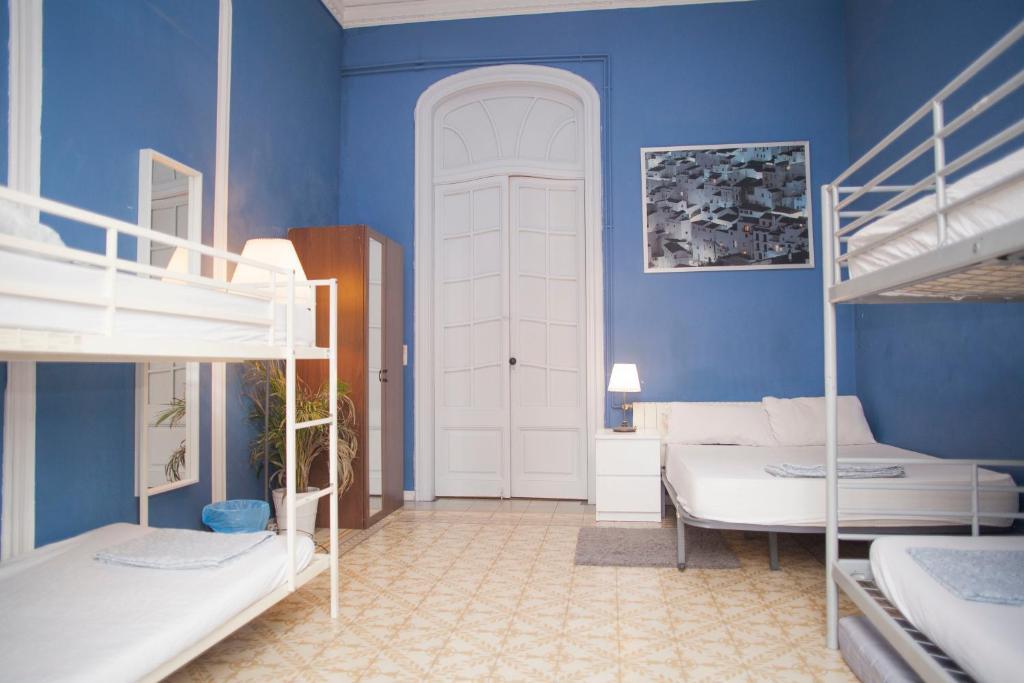 Camere Familiari Barcellona : Hipstel gran vìa affittacamere barcelona
