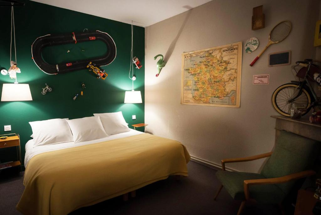 hotel auberge des remparts laval prenotazione on line viamichelin. Black Bedroom Furniture Sets. Home Design Ideas