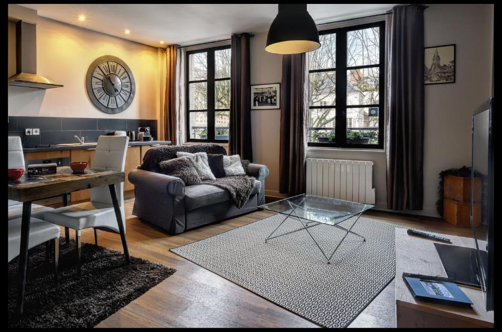 Wohnung L Atelier Wohnung Honfleur