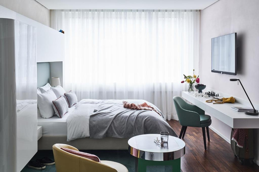 side design hotel hamburg hamburgo reserve o seu hotel com viamichelin. Black Bedroom Furniture Sets. Home Design Ideas