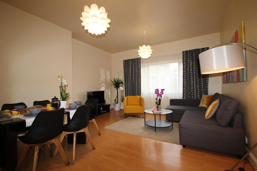 stylish loft style apartment apartment london
