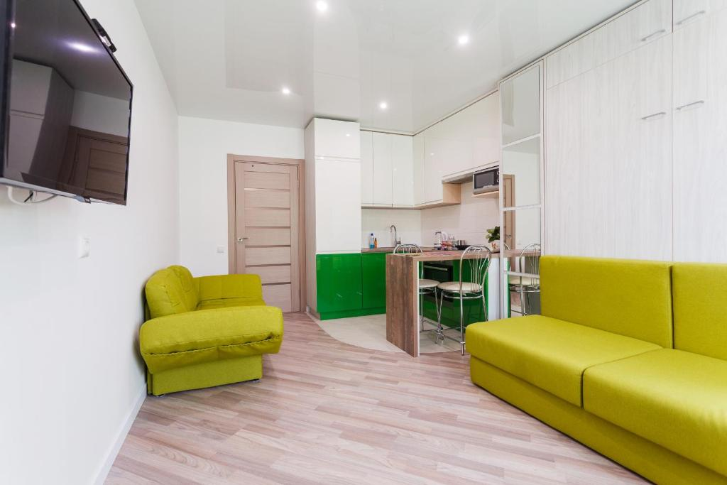 Modern Studio Apartments, Apartment Kiev