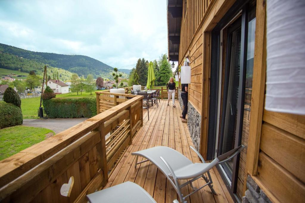 Chalet Le Bo Spa Chalet Bussang