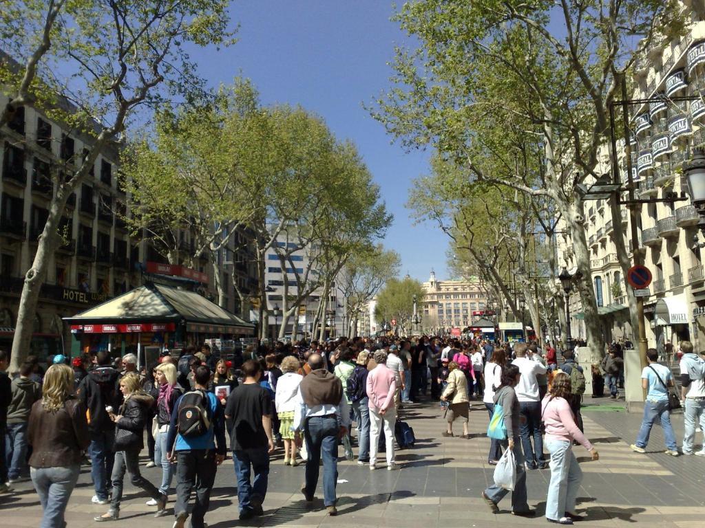 Hotel Sur Les Ramblas Barcelone