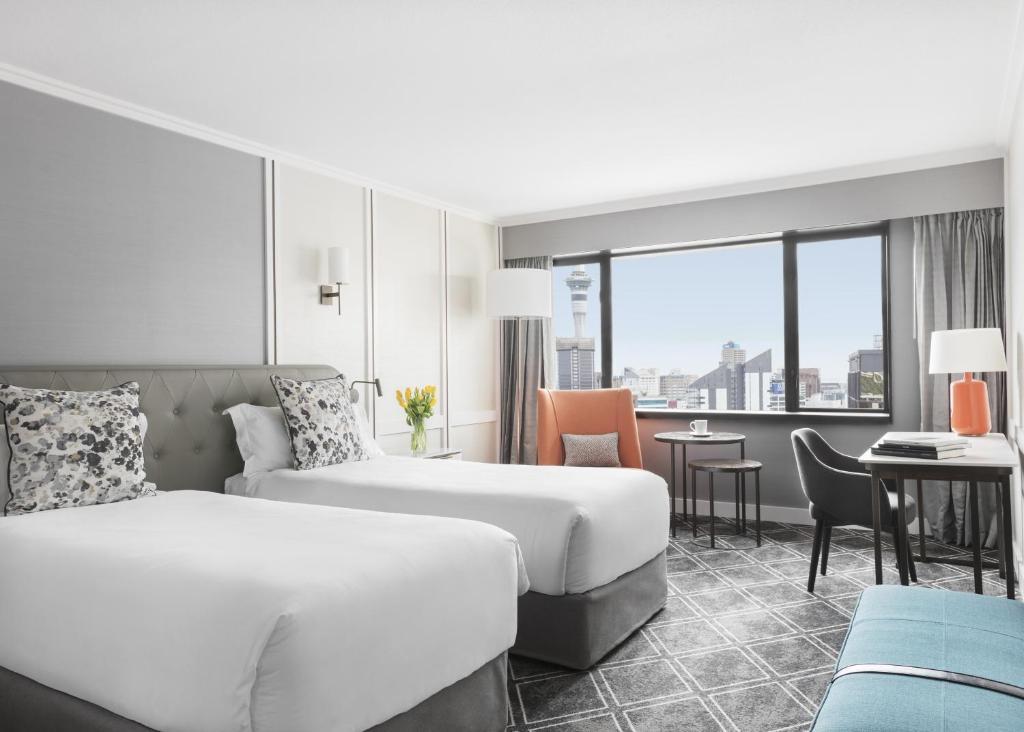 Langham Auckland Room Service Menu