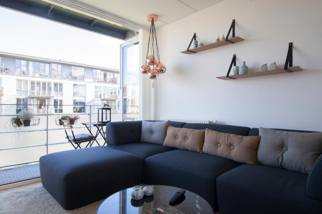 Luxurious appartement w balcony & ocean view appartement copenhagen