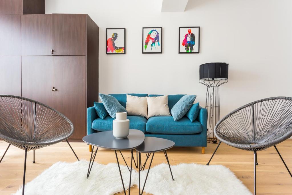 Appartement CMG Buttes-Chaumont, Appartement Paris