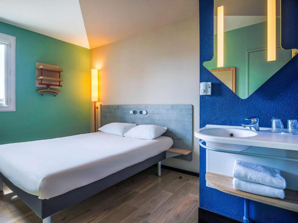 ibis budget albi centre r servation gratuite sur viamichelin. Black Bedroom Furniture Sets. Home Design Ideas