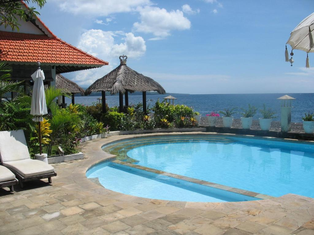 Kembali Beach Bungalows Holiday Park In Amed Bali Indonesia
