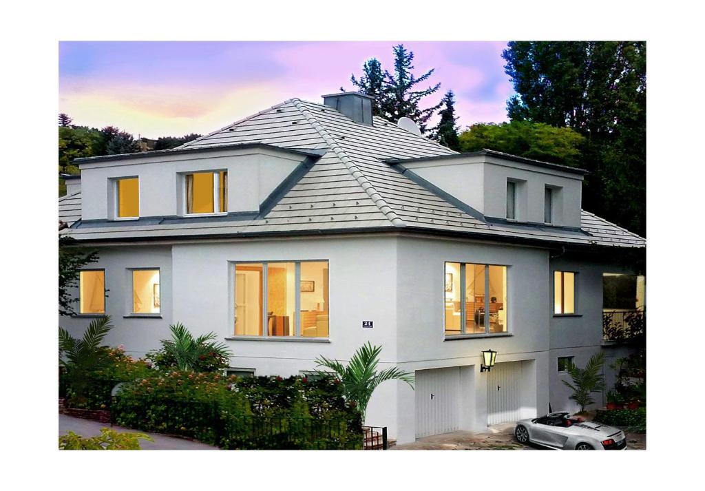 White Villa Appartement A Baden Basse Autriche Autriche