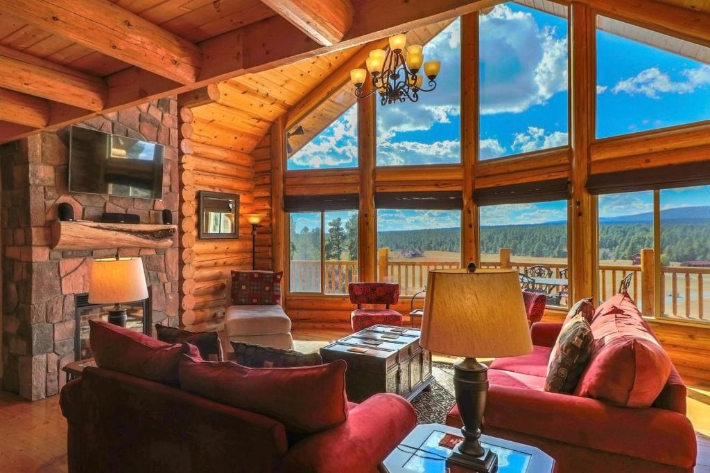 Colorado Luxury Cabin With 4 Bedroom Suites Mountain Views