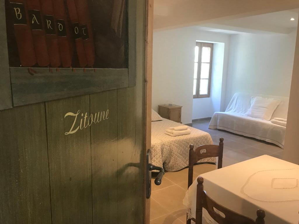 Literie Vaison La Romaine les chambres du moulin à huile, chambres d'hôtes vaison-la