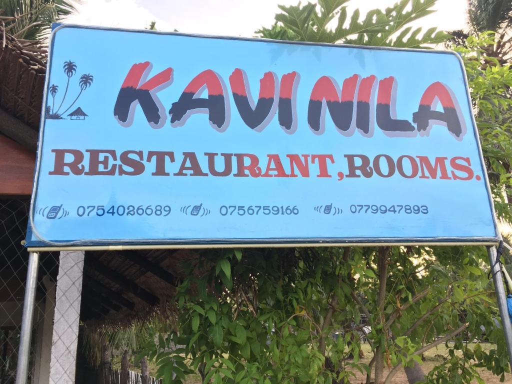 Carte Sri Lanka Nilaveli.Kavinila Guest House Bed Breakfast Nilaveli